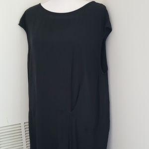 Eileen Fisher Black Fold Dress